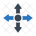 Direction Arrow Sign Icon