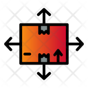 Direction Delivery Package Icon