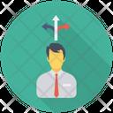 Direction Arrow Account Icon