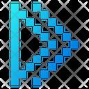 Arrowheads Play Arrow Icon
