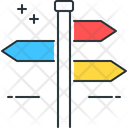 Direction Four Arrows Four Directions Icon