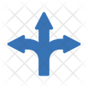 Direction Road Choices Icon