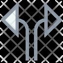 Direction Directional Diagonal Icon