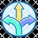 Direction Arrow Straight Icon