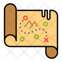 Direction Find Map Icon