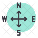 Direction Navigation Arrow Icon