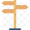 Directional Arrows Directions Guideposts Icon