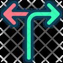 Direction Way Choice Icon
