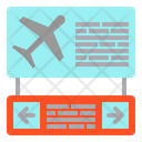 Ariport Board Direction Icon