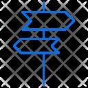 Direction Arrow Left Icon
