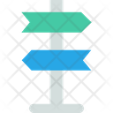 Direction Board Banner Board Icon