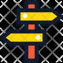 Wayfinding Navigation Direction Icon