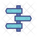 Sign Road Symbol Icon