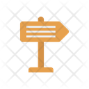 Direction Board Sign Icon