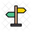 Direction Board Arrow Icon