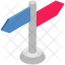 Logistics Delivery Direction Icon