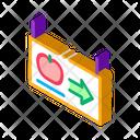 Direction Arrow Mobile Icon