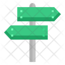 Signpost Sign Post Icon