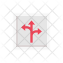 Direction Arrow Road Icon