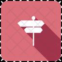 Arrow Direction Roadsign Icon