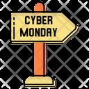 Direction Monday Sale Discounts Icon