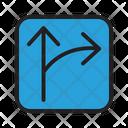 Arrow City Direction Icon