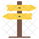 Road Sign Direction Traffic Sign Icon