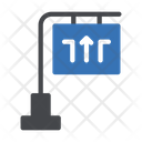 Direction Board Banner Icon