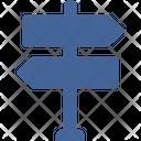 Sign Arrow Road Icon