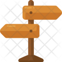 Direction Board Road Icon