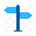 Direction Board Post Icon