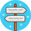 Direction Arrow Way Icon