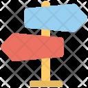Direction Teller Signpost Icon