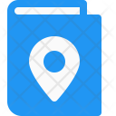 Map Book Direction Icon