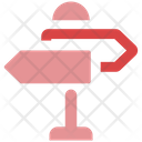 Direction Guide Road Guide Guidepost Icon
