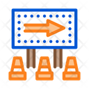 Road Mark Show Icon