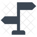 Sign Direction Arrow Icon