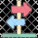 Direction Sign Direction Arrow Navigation Arrow Icon