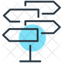 Direction Sign Icon