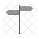 Direction signboard Icon
