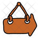 Direction Sign Hanging Icon