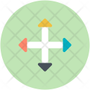 Directional Expansion Arrows Icon