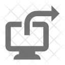 Directional Forward Right Icon