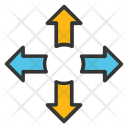 Cardinal Directions Directional Icon