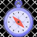 Navigational Tool Compass Directional Compass Icon