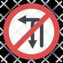 Left Turn U Turn Icon