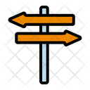 Directional Sign Icon