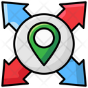 Directions Road Directions Location Icon