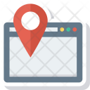 Directions Internet Location Icon