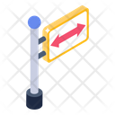 Road Board Sign Board Directions Icon